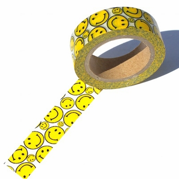 Smiley Face Washi Tape - out of stock