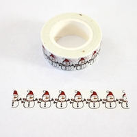 Snowman Washi Tape - out of stock