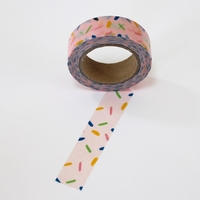Sprinkle Washi Tape - Light Pink