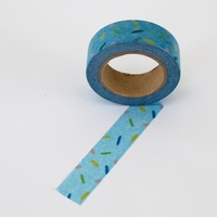 Sprinkles Washi Tape - Blue