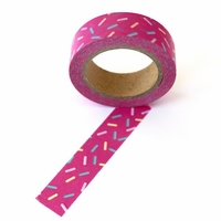 Sprinkles Washi Tape - Pink - Out Of Stock