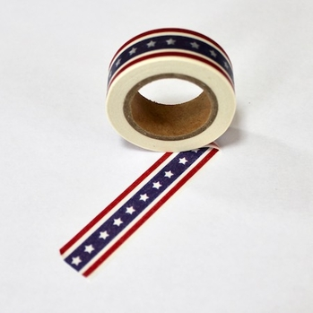 Patriotic Washi Tape - Out Of Stock