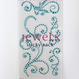 Swirl Bling - Jewel Blue