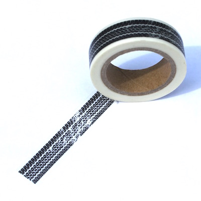 Tire Track Washi Tape