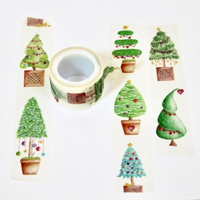 Christmas Tree Washi Tape