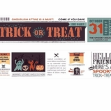 * Trick Or Treat Washi Tape - Wide