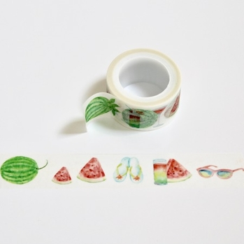 * Watermelon Washi Tape