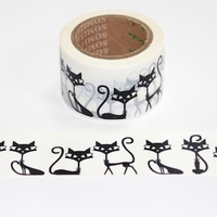 Wide Cat Washi Tape