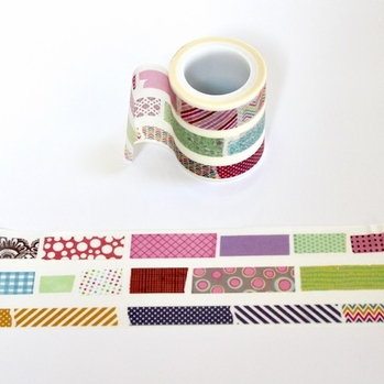* Wide Lines Washi Tape
