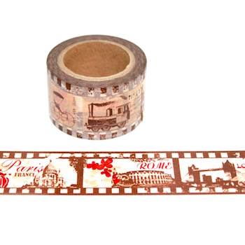 Wide Travel Washi Tape