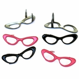 Woman's Eye Glass Brads