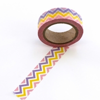 ZigZag Washi Tape - Pink/Purple