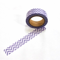 ZigZag Washi Tape - Purple