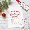 Christmas Kitchen Towel - It's The Most Wonderful Time