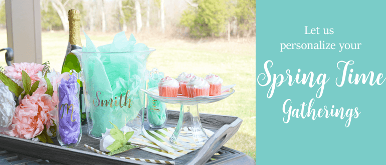 Personalized Spring Time Gifts