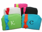Large Monogrammed Cosmetic Bags - Monthly Special!!