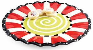 Large Whimsical Christmas Platter
