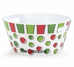Melamine Christmas Party Tub - Personalized Free!!