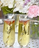 Monogram Stemless Champagne Glass