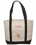 Monogrammed Beach Bag - Personalized FREE
