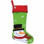 Monogrammed Christmas Stocking - Personalized Christmas Stocking - Sowman