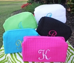 Monogrammed Cosmetic Bags - MONTHLY SPECIAL