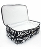 Monogrammed Damask Print Insulated Casserole Tote