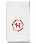 Monogrammed Holiday Hand Towels - Great Christmas Gift!