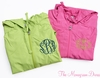 Monogrammed Lightweight Jacket - Hot Pink