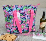 Monogrammed Lilly Pulitzer Insulated Cooler Bag - Trippin' & Sippin'