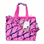 Monogrammed Lilly Pulitzer Insulated Cooler - Cute as Shell