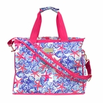 Monogrammed Lilly Pulitzer Insulated Cooler - She She Shells