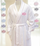 Monogrammed Terry Cloth Spa Robe