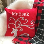 Personalized Christmas Pillow