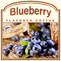 Blueberry Flavored Coffee Beans