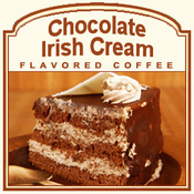 Chocolate Irish Cream Flavored Coffee (1/2lb bag)