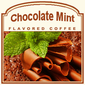 Chocolate Mint Flavored Coffee (1/2lb bag)