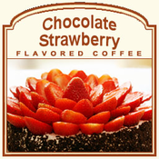 Chocolate Strawberry Flavored Coffee (1/2lb bag)