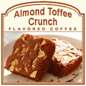 Decaf Almond Toffee Crunch Flavored Coffee (1/2lb bag)