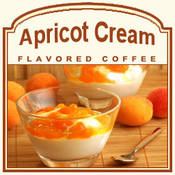Decaf Apricot Cream Flavored Coffee (1/2lb bag)