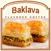 Decaf Baklava Flavored Coffee (1lb bag)