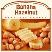 Decaf Banana Hazelnut Flavored Coffee (1/2lb bag)