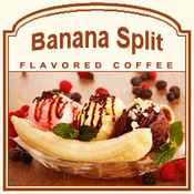 Decaf Banana Split Flavored Coffee (1lb bag)