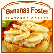 Decaf Bananas Foster Flavored Coffee (1lb bag)