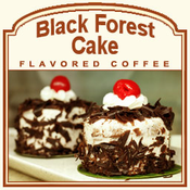 Decaf Black Forest Cake Flavored Coffee (1/2lb bag)