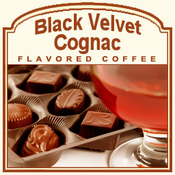 Decaf Black Velvet Cognac Flavored Coffee (1/2lb bag)