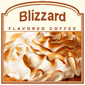 Decaf Blizzard Flavored Coffee (1/2lb bag)