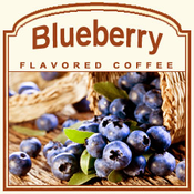 Decaf Blueberry Coffee (1/2 lb)