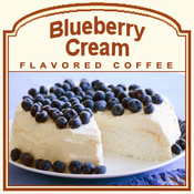 Decaf Blueberry Cream Flavored Coffee (1/2lb bag)