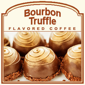 Decaf Bourbon Truffle Flavored Coffee (5lb bag)